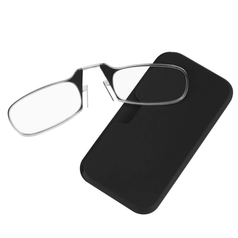 0a08808384b5 Unisex Ultra Thin Light 1.0-3.0 Big Nose Clip Reading Presbyopic Glasses  Mini Size 3.0