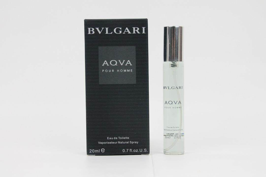 Bvlgarii Aqva Pour Homme by Bvlgarii Eau De Toilette For Men 20ml