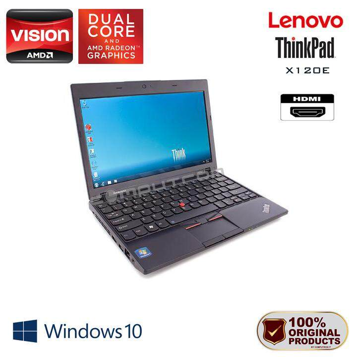 LENOVO THINKPAD X120E [11.6-INCH] AMD-E350 DUAL CORE PROCESSOR / AMD GRAPHICS [ 1 YEAR WARRANTY ] Malaysia