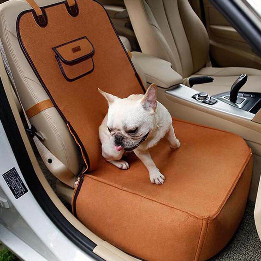 Hiqueen Creative Pet Car Seat Cover Puppy Basket Pet Carrier Protector Pet Supplies 45*45*60cm By Hiquuen.