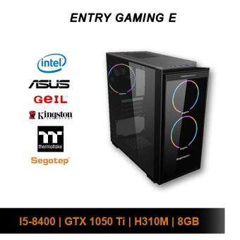 [Custom PC] Intel Entry Gaming E (i5-8400 / 8GB / 120GB SSD + 1TB HDD / GTX 1050 Ti)
