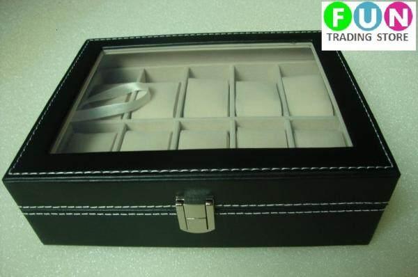 Premium PU Leather Watch Display & Storage Box Case - 10 slots Malaysia