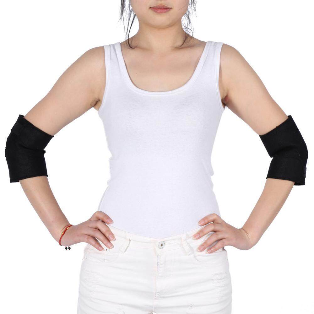 1 Pair Of Self-heating Tourmaline Elbow Support Brace Pad Health Care Arthritis Protector