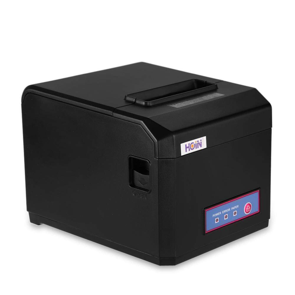 Hoin Hop - E801 80mm Usb + Com + Lan Thermal Printer For Pos System-Black- By Aimeey.