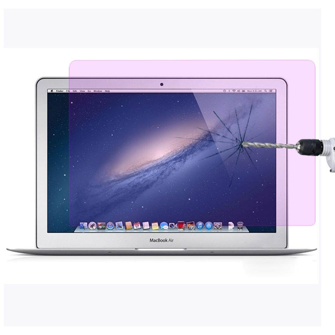 9H Surface Hardness Anti Blue-ray Explosion-proof Tempered Glass Film for MacBook Air 11.6 inch (A1370 / A1465) Malaysia
