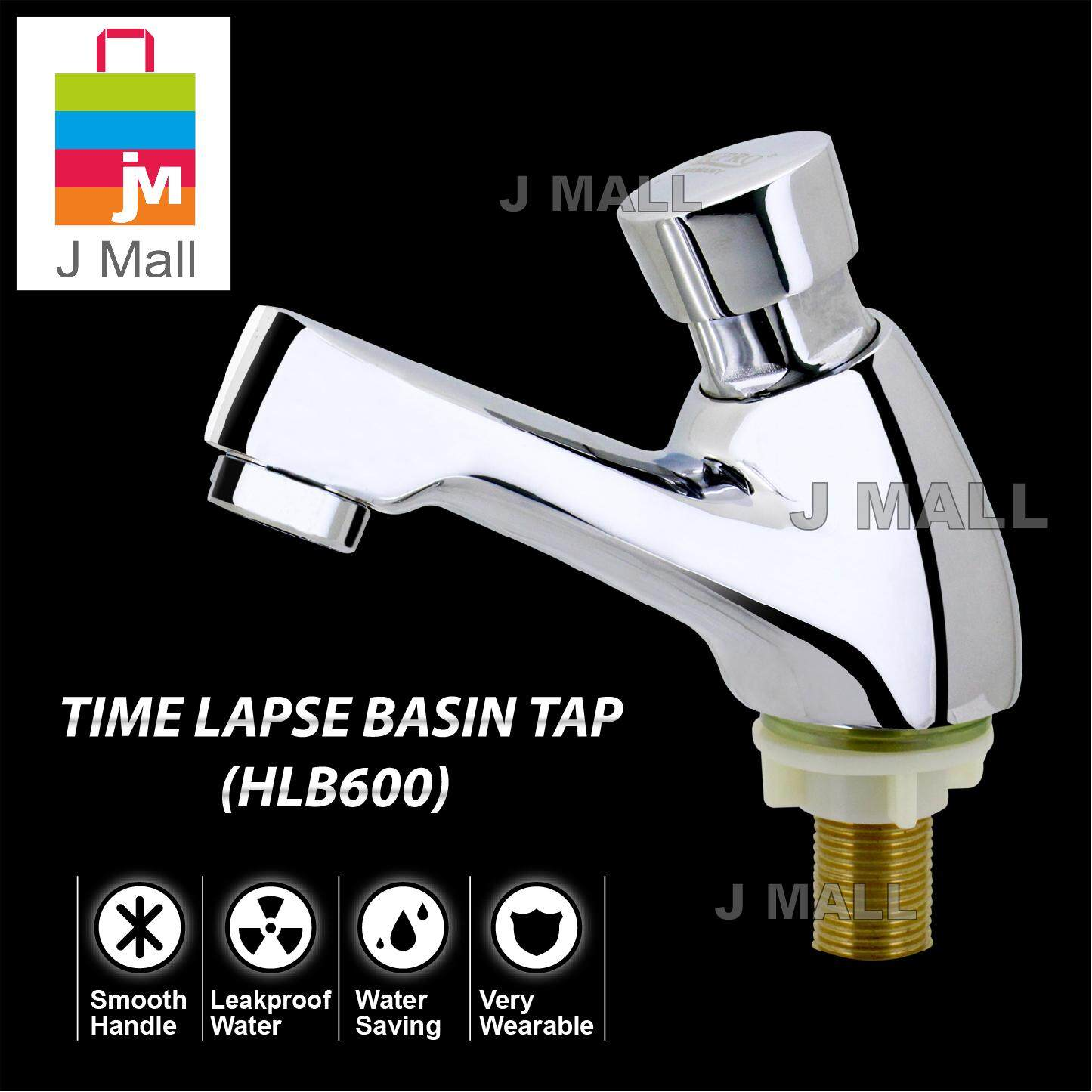 MCPRO Kitchen & Bathroom Basin Faucet TIME LAPSE BASIN TAP Press Self Auto Closing (HLB600)
