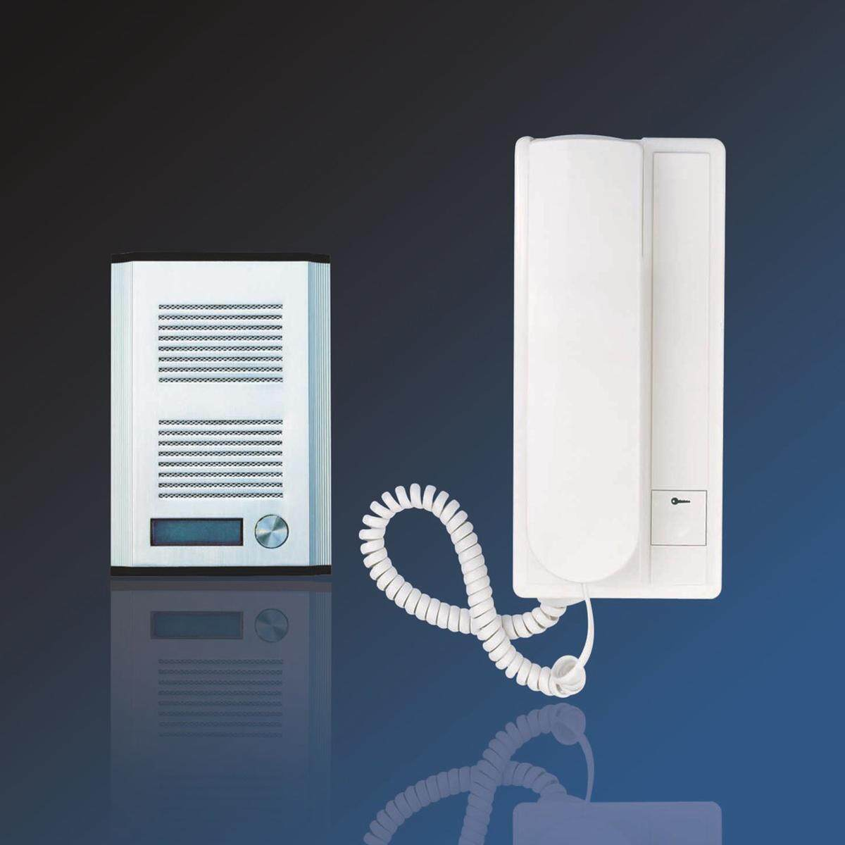 BELL SYSTEM AUDIO DOOR PHONE INTERCOM with ELECTRIC LOCK KIT POWER