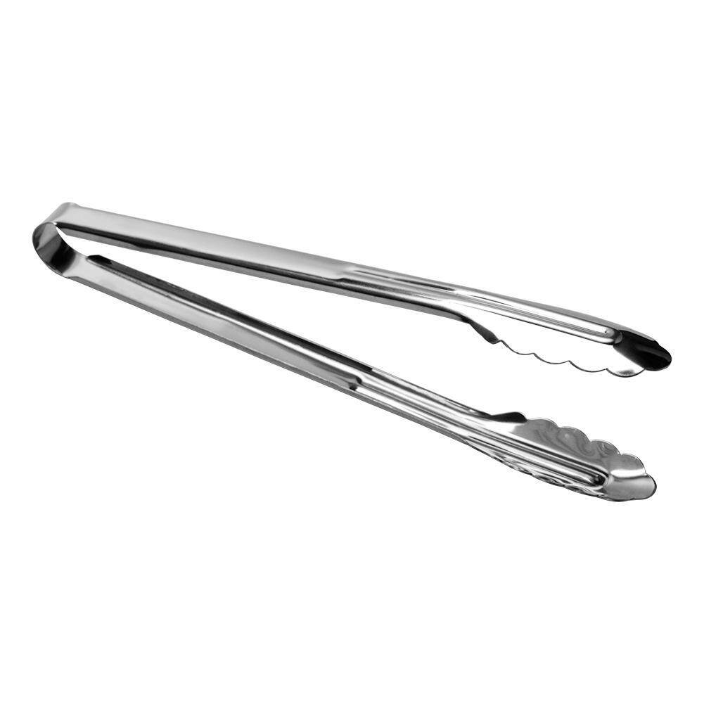 Stainless Steel BBQ Tongs Meat Food Bread Cake Clip Barbecue Cooking Clamp Kitchen Supplies