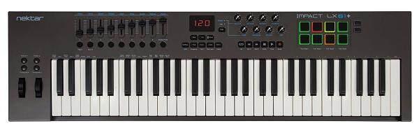 NEKTAR IMPACT LX61+ MIDI KEYBOARD CONTROLLER Malaysia