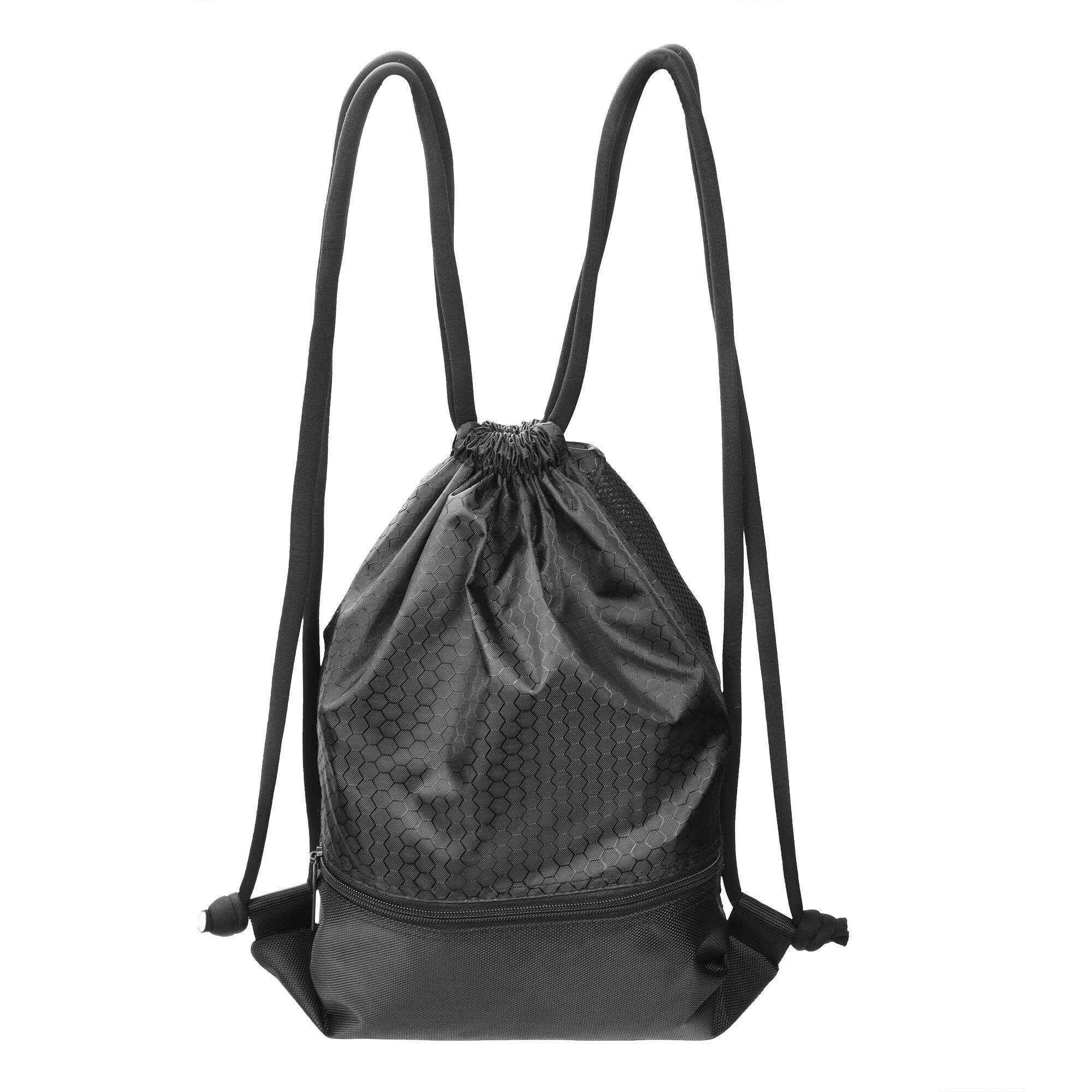 1ec0f42ba27 SDD Drawstring Storage Backpack Gym Sport Waterproof Sack pack with Pockets  for Men or Women(
