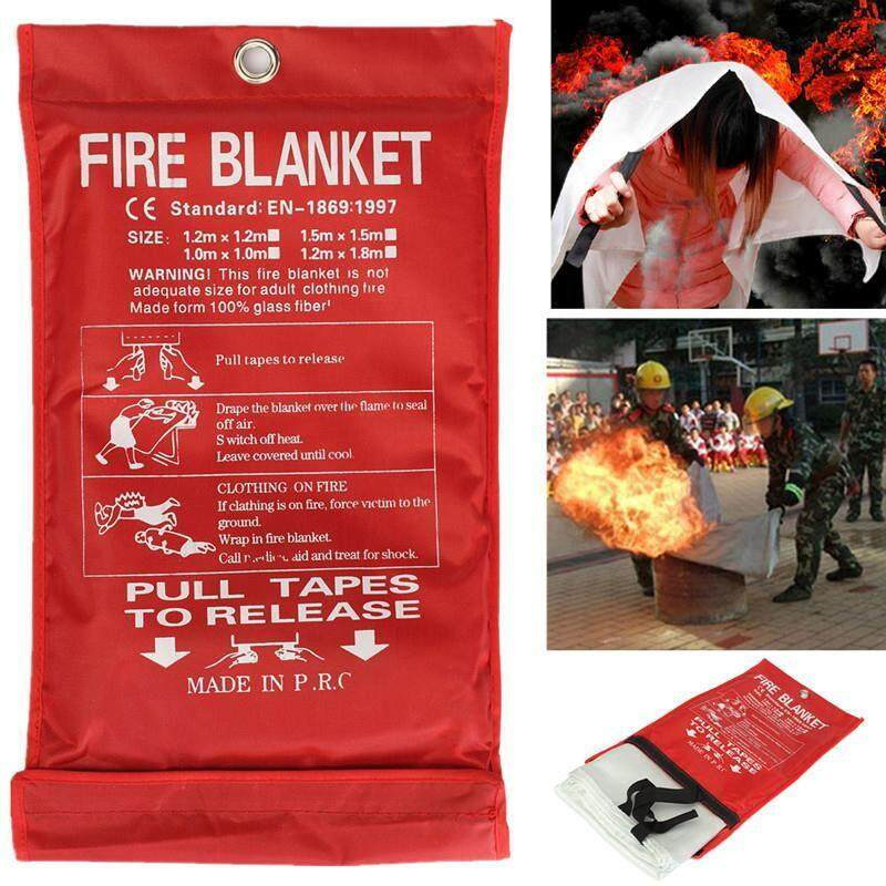 Fire Blanket Emergency Survival Fire Shelter Safety Protector Fire Extinguishers Tent By Hunt.