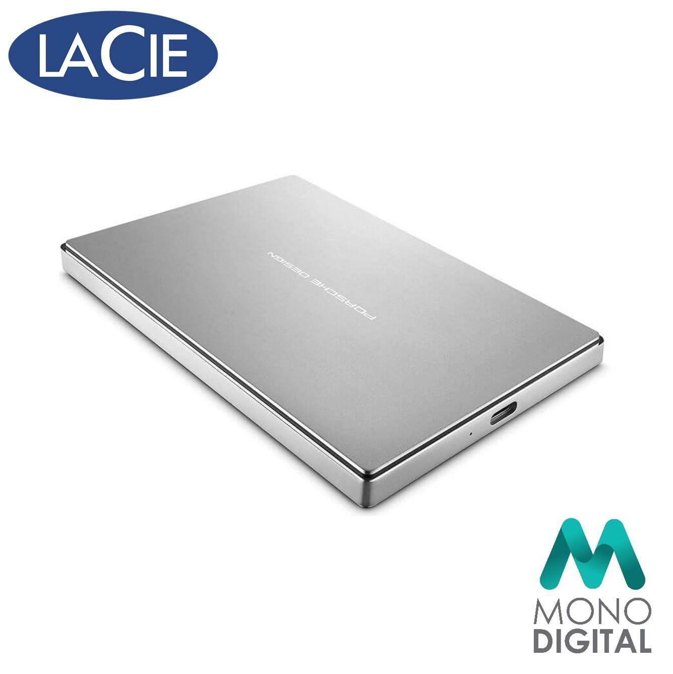 LaCie 5TB Porsche Type C 2.5 External Hard Disk (Silver) (STFD5000400) (LaCie Malaysia)