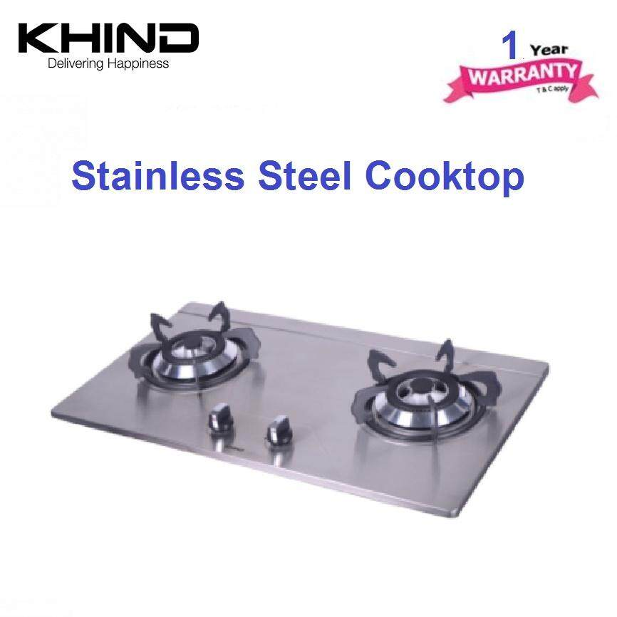 Khind Stainless Steel Hob Hb 802s Hb802s