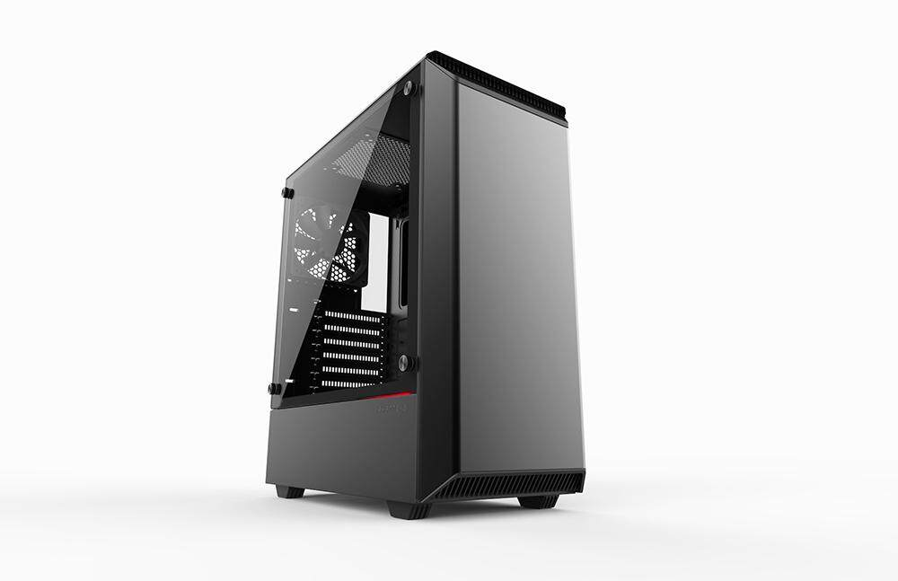 Phanteks Eclipese P300 Tempered Glass Mid Tower Casing Malaysia