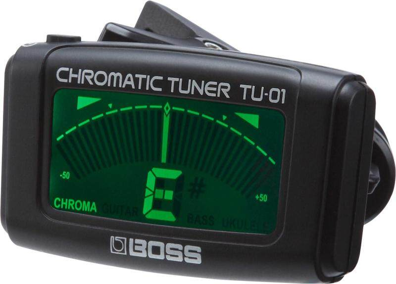 Boss TU-01 Clip-On Chromatic Tuner, Black Malaysia
