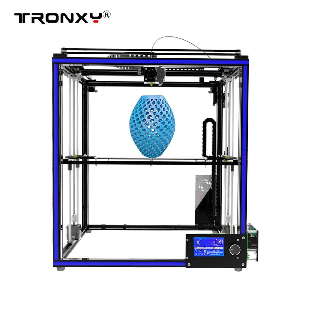 Tronxy X5s Diy 3d Printer Kits Dual Z Axis Large Print Size 330 * 330 * 400mm With Lcd12864 Screen Metal Frame High Precision By Outdoorfree.