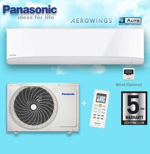 NEW Panasonic CS-PV18TKH/CU-PV18TKH 2.0HP STANDARD NON-INVERTER AIR CONDITIONER