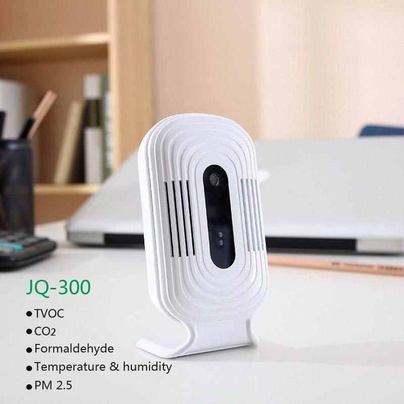 JQ-300 PM2.5 Wifi Formaldehyde Gas Detector Meter Tester Sensor HCHO&TVOC&CO2 Air Quality Analyzers Monitor Detection Device