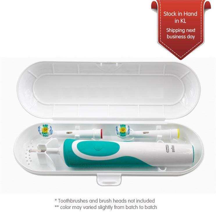 Oral-B Electric Toothbrush Travelling Storage Box With Free Brush Head Cover By Cavarii Online Store.
