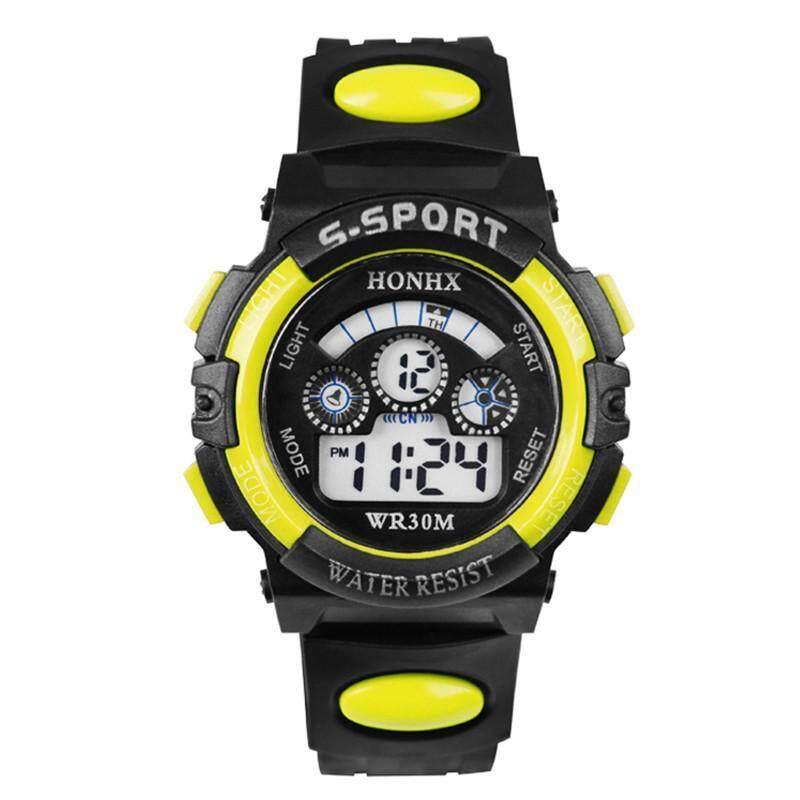 HONHX T62 Multi-function Waterproof LED Luminous Sports Calendar Watch Malaysia