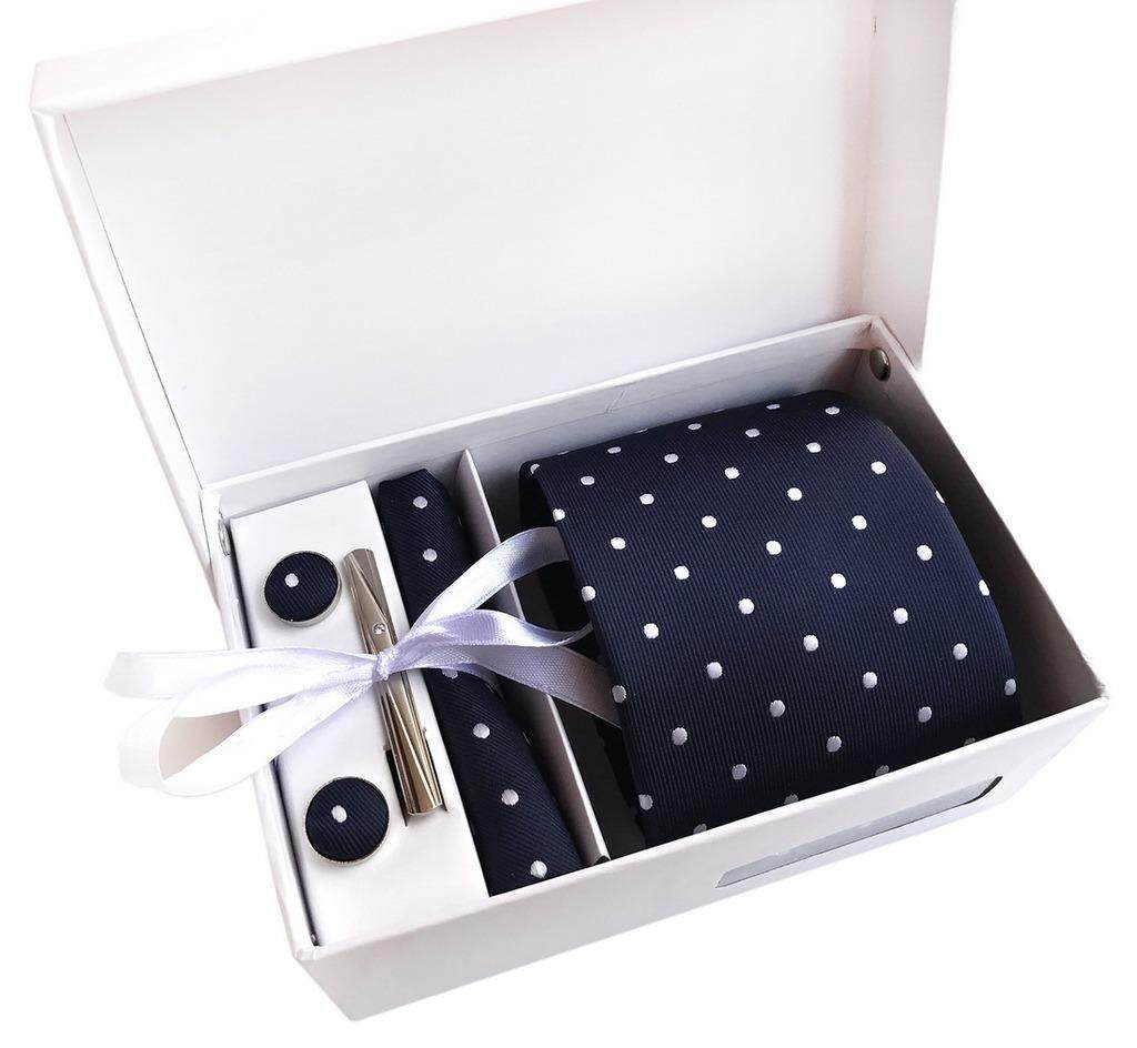 Smile Ykk Men 6pcs Business Weddings Neckties Handkerchief Tie Bar Clip Set By Smile Ykk Shop.