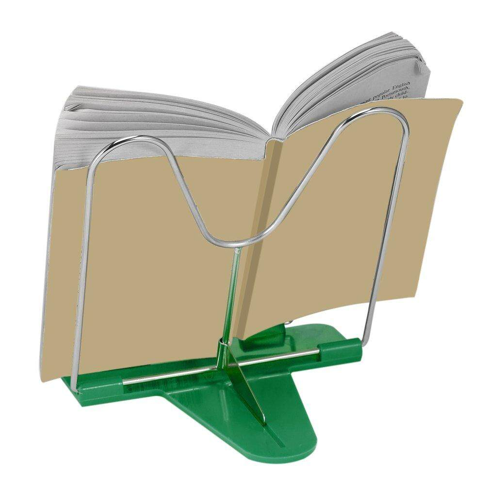 Allwin Adjustable Angle Foldable Portable Reading Book Stand Document Holder Green By Allwin2015.