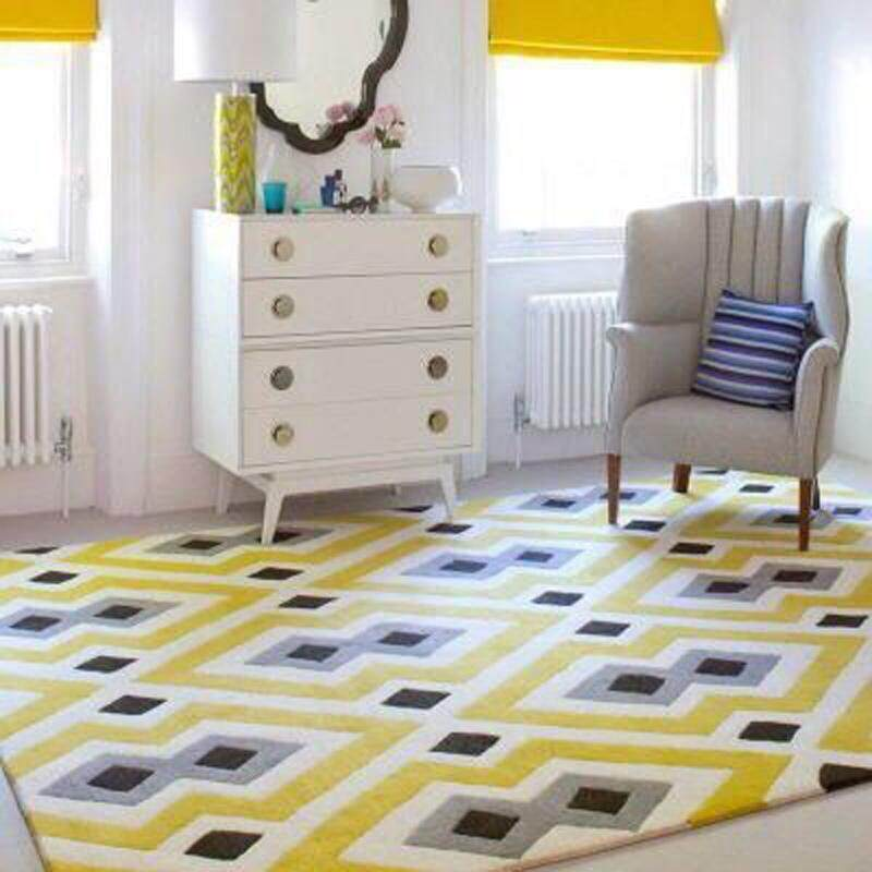 160 230cm Bedroom Living Room Anti Slip Floor Mat