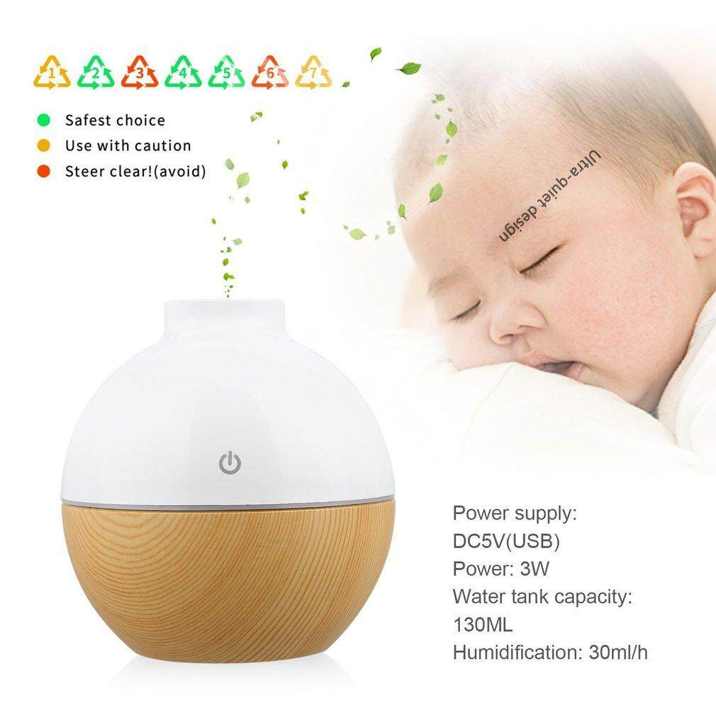 Belle YX-010 Atomization Humidifier 130ML Aroma Essential Oil Diffuser Air Purifier