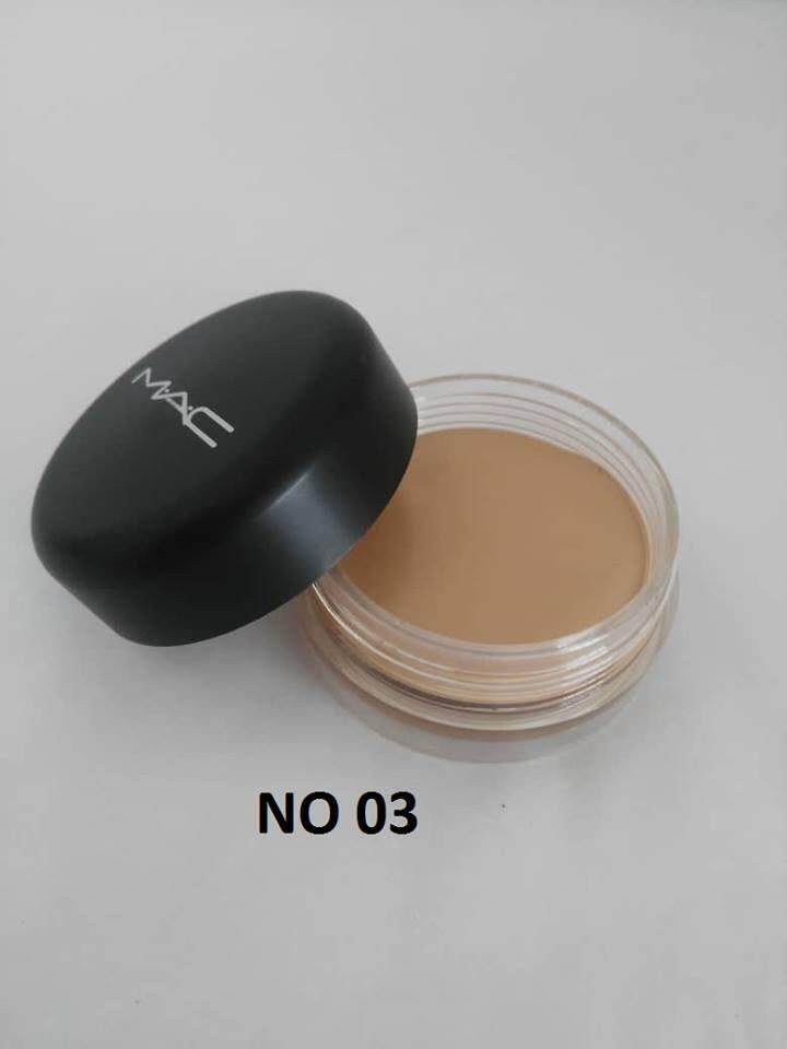 MAC SOFT MATTE COMPLETE CONCEALER ANTI SPOT CORRECTOR WITH FREE SPONGE No. 03