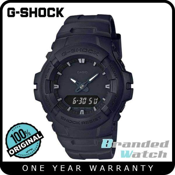 G-Shock G-100BB-1ADR Mens Digital Analog Blackout Matte Black Resin Watch G-100BB-1A G-100BB G-100BB-1 Malaysia
