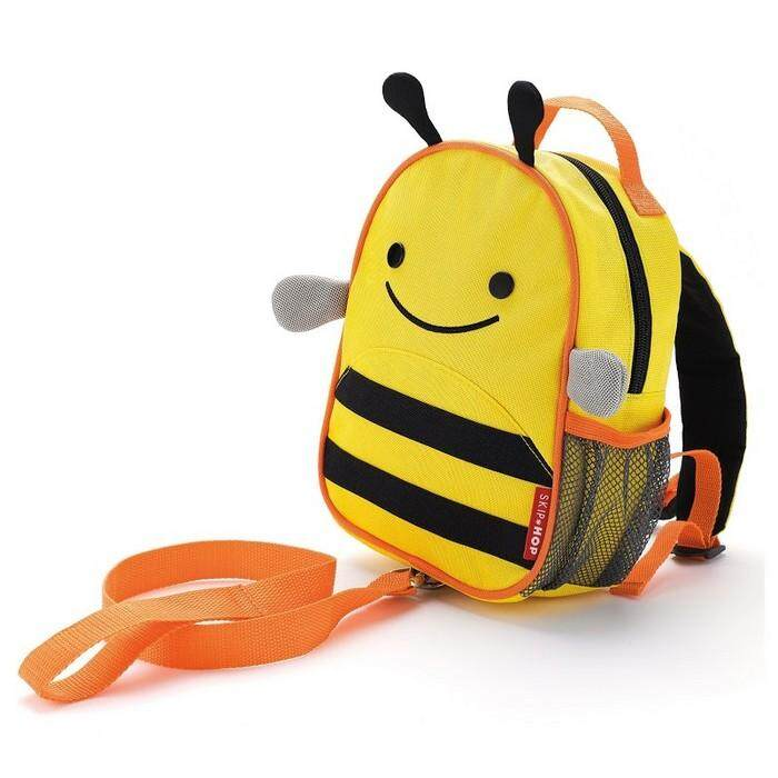 Original Skip Hop Zoo-Let Mini Backpack With Rein - Bee By Ring Mobile.