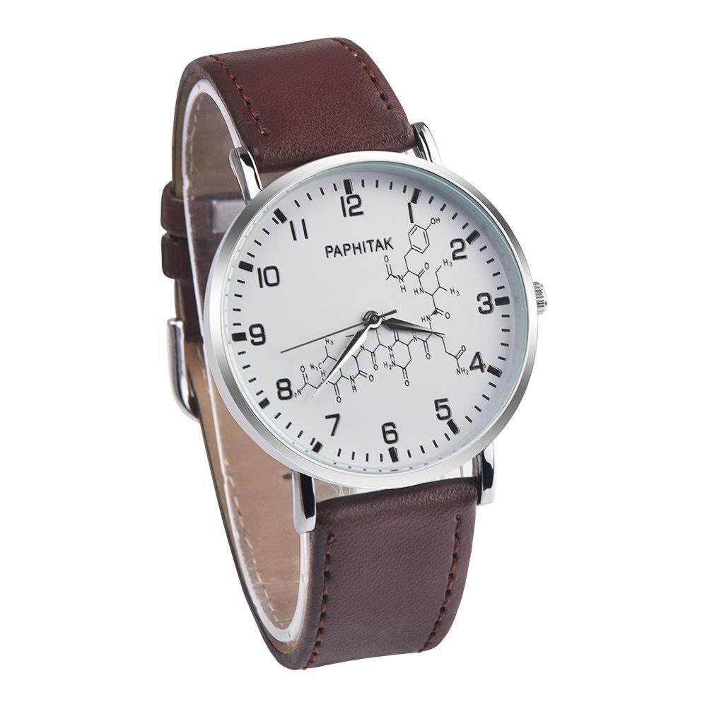 Paphitak 11718 Men Children Kids Adult Casual Quartz Leather Watch [Ready Stock] Malaysia