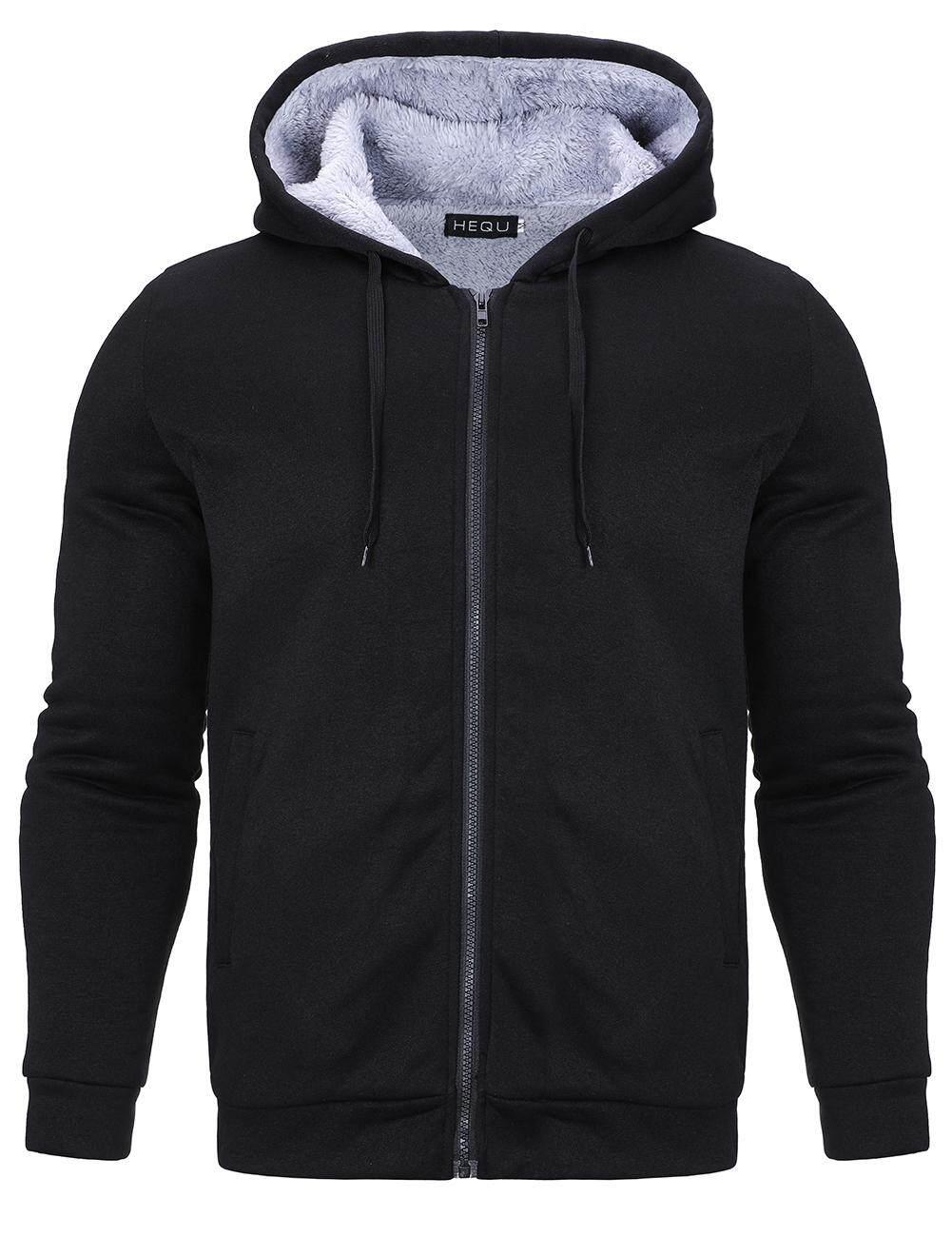 Men Hooded Long Sleeve Zipper s Jacket\Hoodie