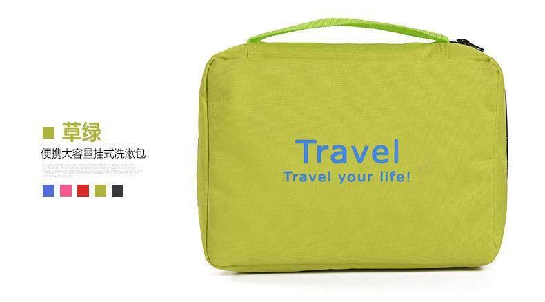 Travelling Toiletries Bag Hanging Foldable Bag