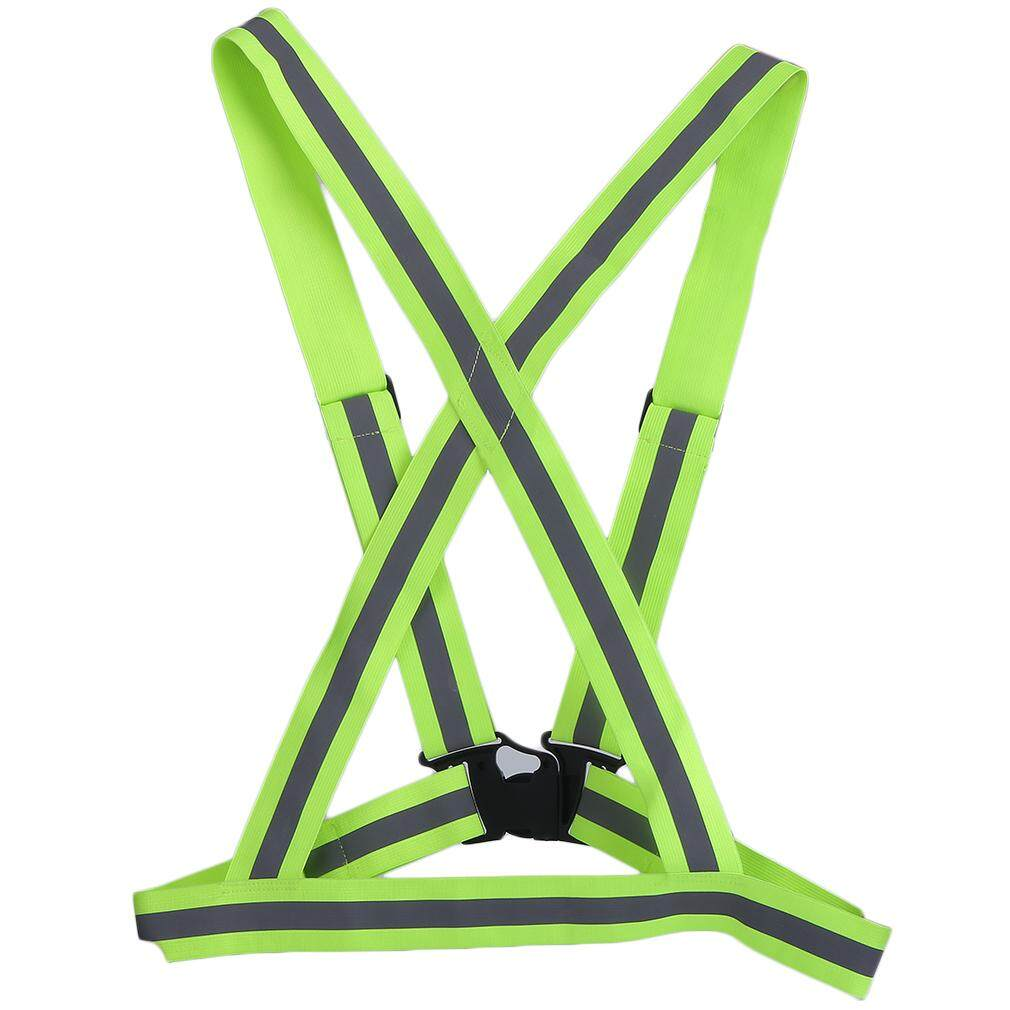 Allwin High Elastic Traffic Night Security Running Cycling Safety Reflective Vest