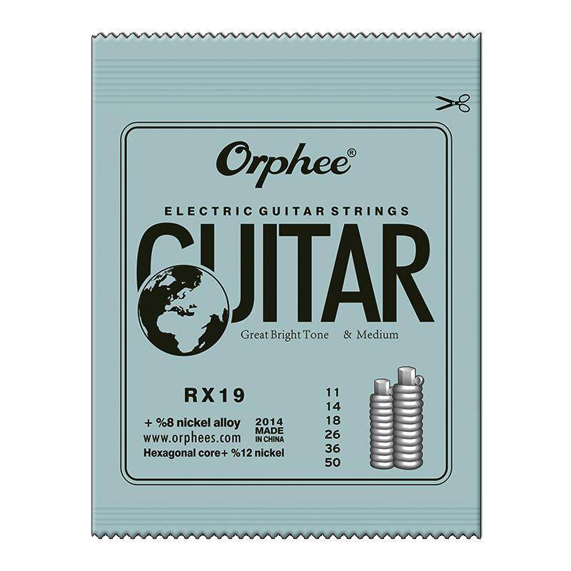 [CNY 2020] 6 Pcs Guitar Strings RX15/RX17/RX19 Electric Guitar Strings Super Light Malaysia