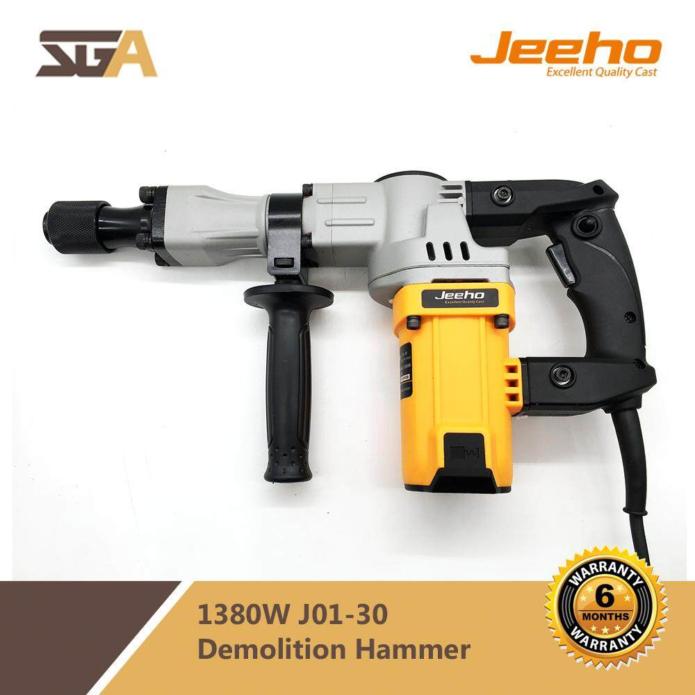 JEEHO 1380W Demolition Hammer J01-30