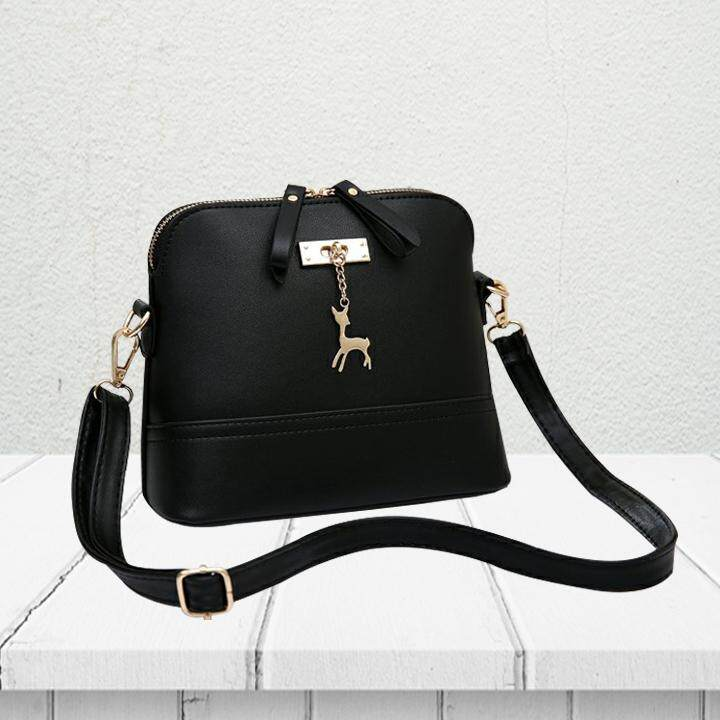 Deer Sling Bag BG3492, Black