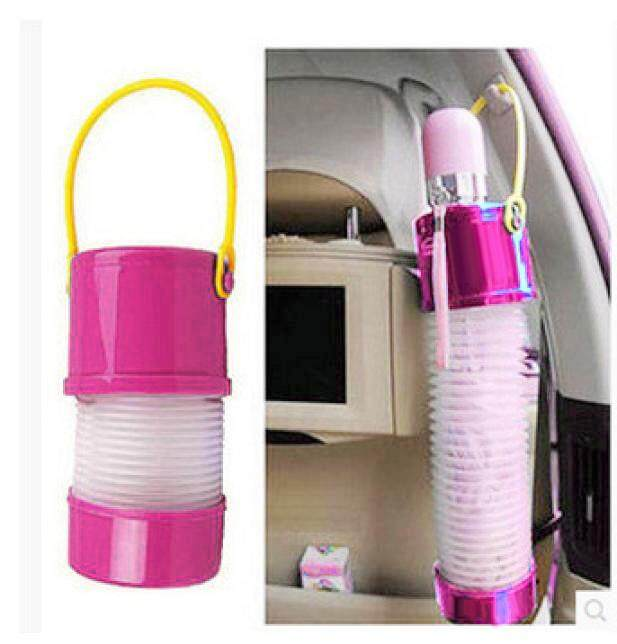 Multifunctional Foldable Plastic Car Interior Umbrella Hanger Storage Holder By Inesshop.
