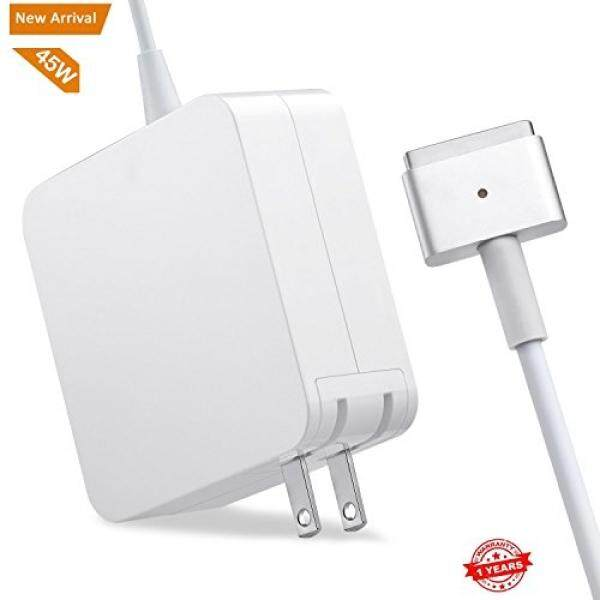 Macbook Air Charger,Replacement 45W Magsafe 2 Power Adapter T-Tip Magnetic Connector Charger for MacBook Air 11 inch and 13 inch Malaysia