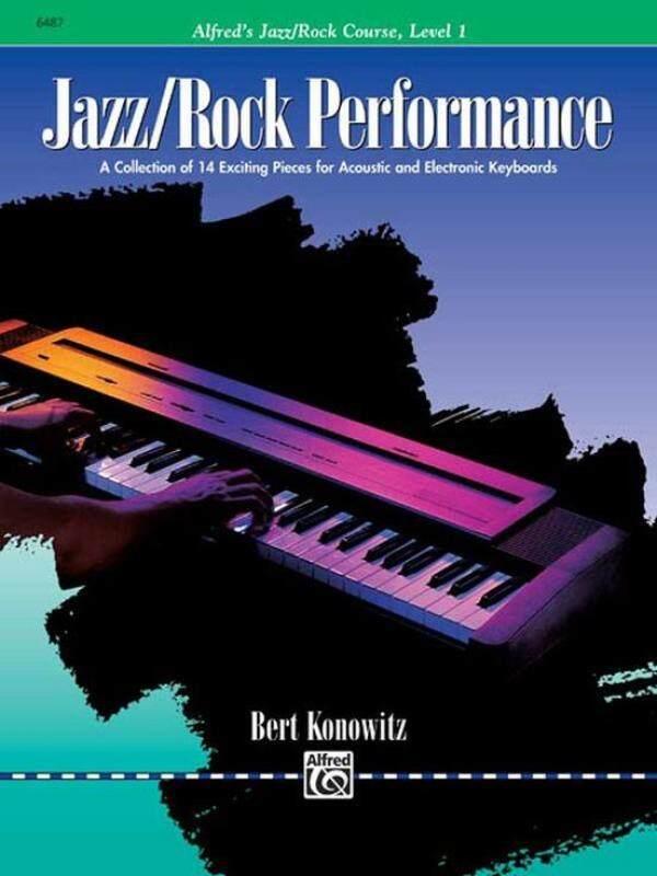 Alfreds Jazz/Rock Performance Level 1 by Bert Konowitz Malaysia
