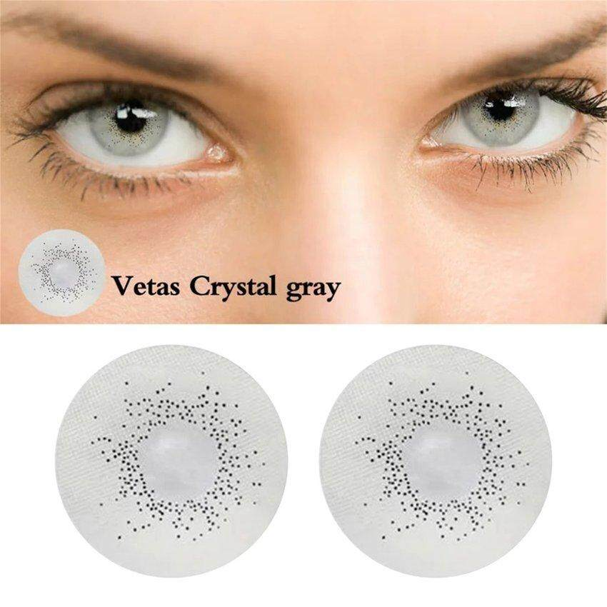 2pcs/set Fashionable Natural Big Eye Uv Protective Contact Lenses Best Gift By Legendseller.