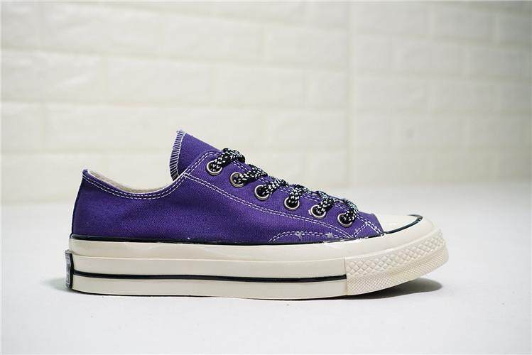 2aad8648c2f0 Converse Official WOMEN Skateboarding Shoes Chuck Taylor ALL STAR 1970s Low  Top Global Sales ( Blue