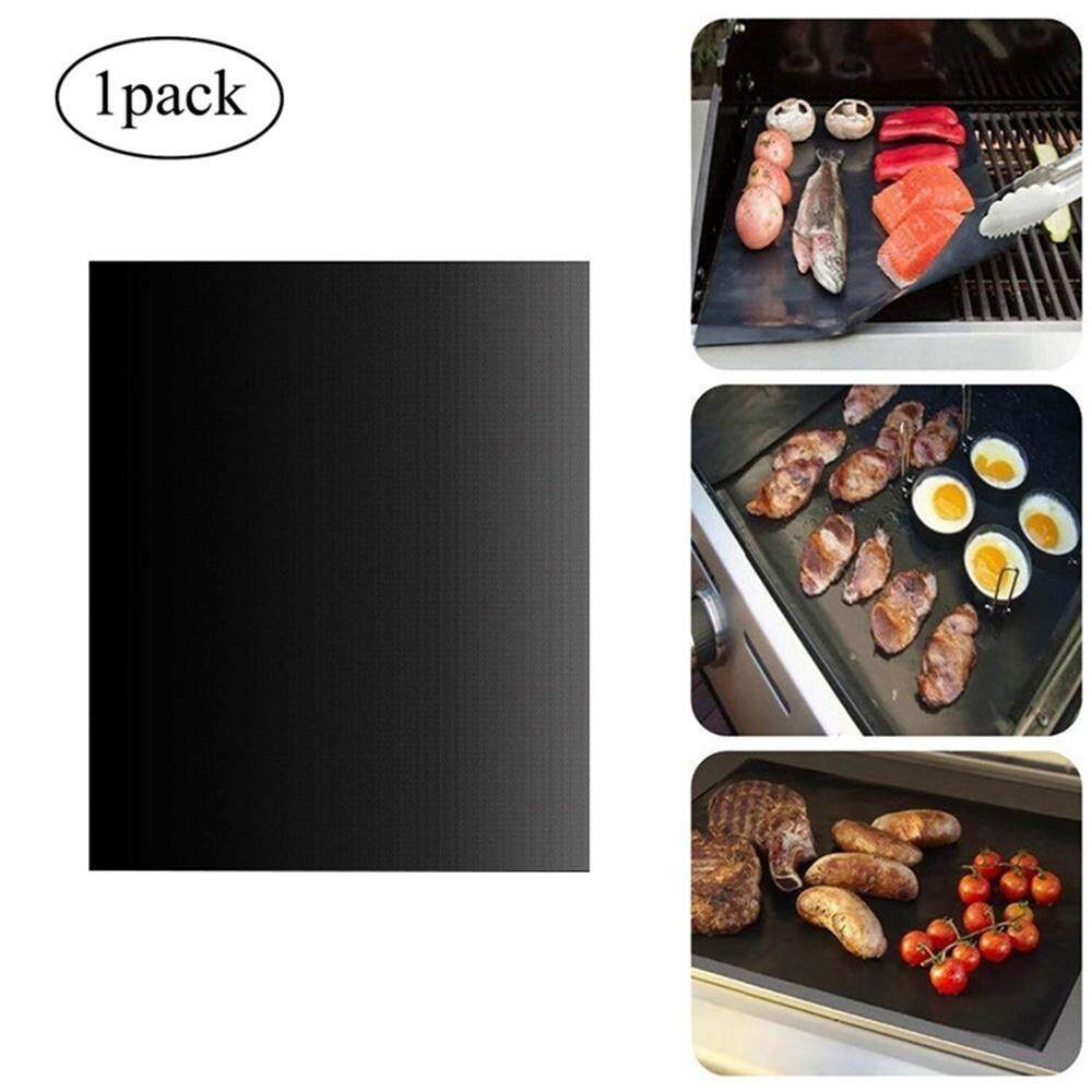 Teekeer BBQ Grill Mat, Non-Stick BBQ Grill Mat Heat Resistant Barbecue Sheets For Grilling Meat, Veggies, Seafoodd