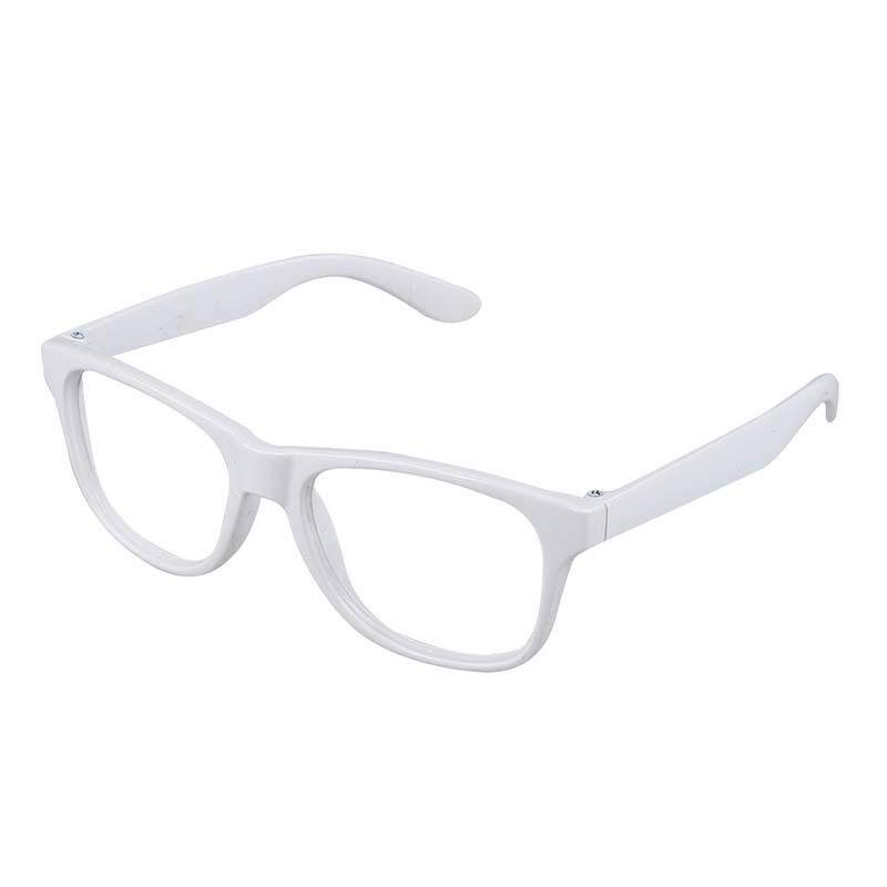 Stylish Unisex Accessories Glasses Frame No Lenses (white) By Sunnny2015.