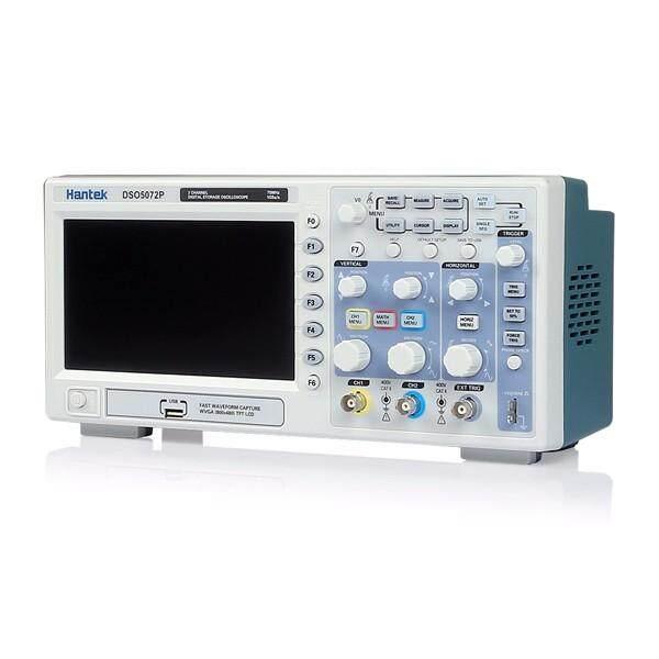 Hantek DSO5072P Digital storage oscilloscope 70MHz 2Channels 1GSa/s 7 TFT LCD
