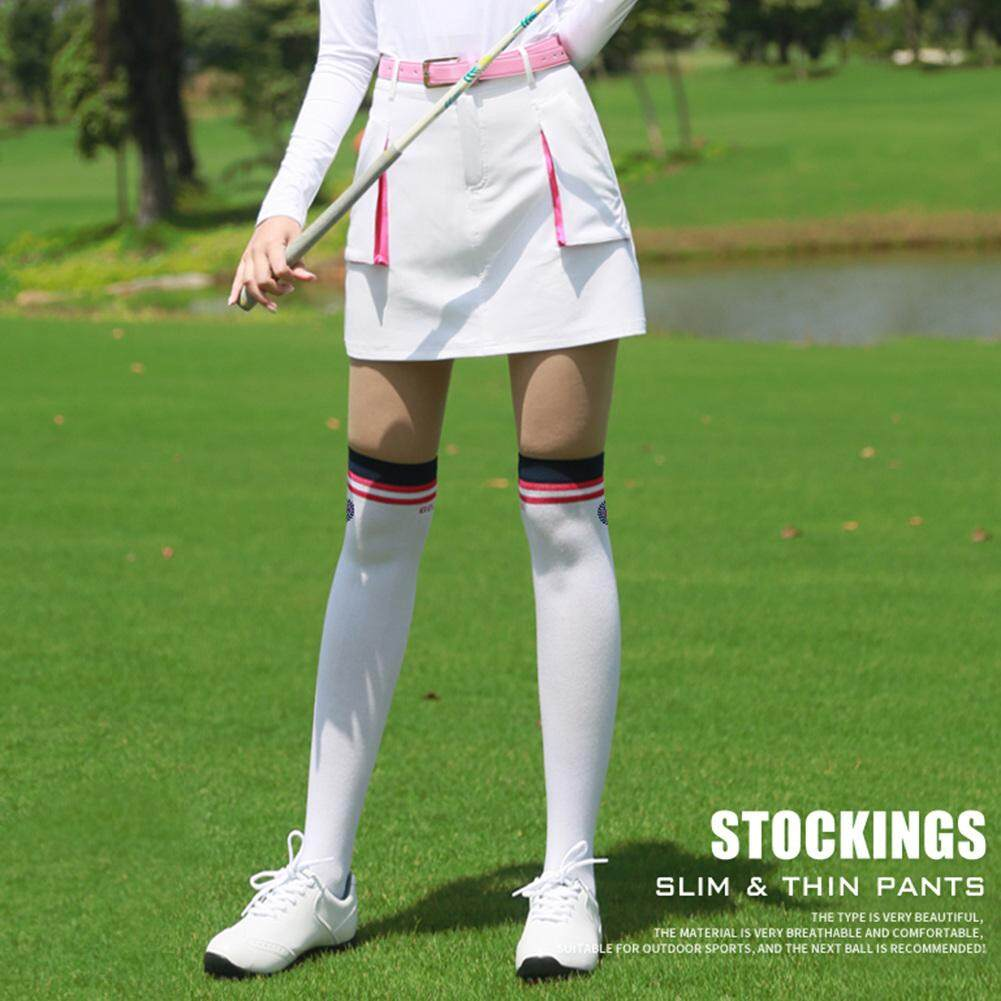 Womens Sports Summer Golf Socks Stockings Sweat-Absorbent Breathable Stockings By Huanjunshi.