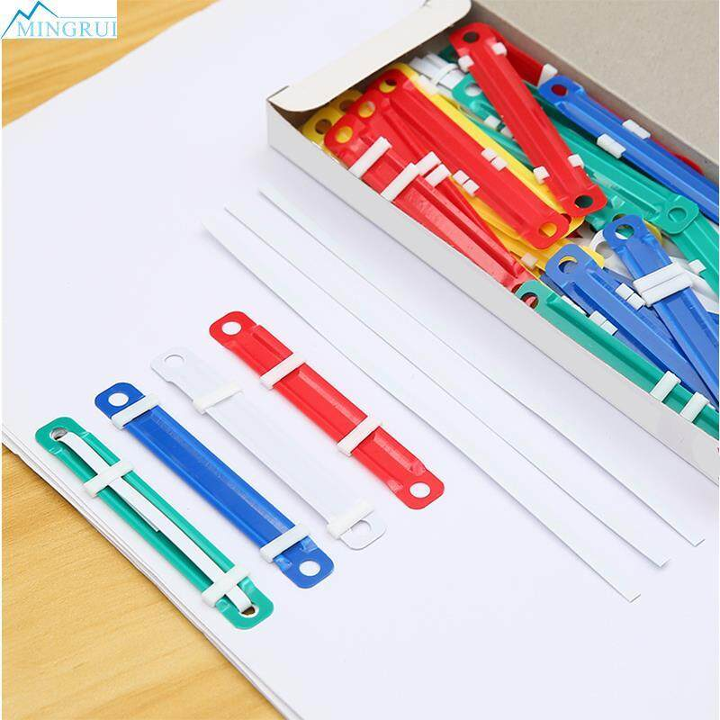 Mingrui Store 2 Holes 50pcs/set Plastic Binding Two-Piece By Mingrui.