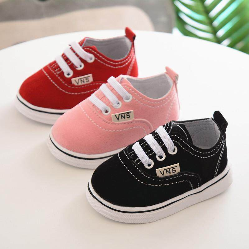 8e3a038a2914 Baby Walking Shoes 2018 Babies 0-1-2 Years Old Babies Shoes Black Small