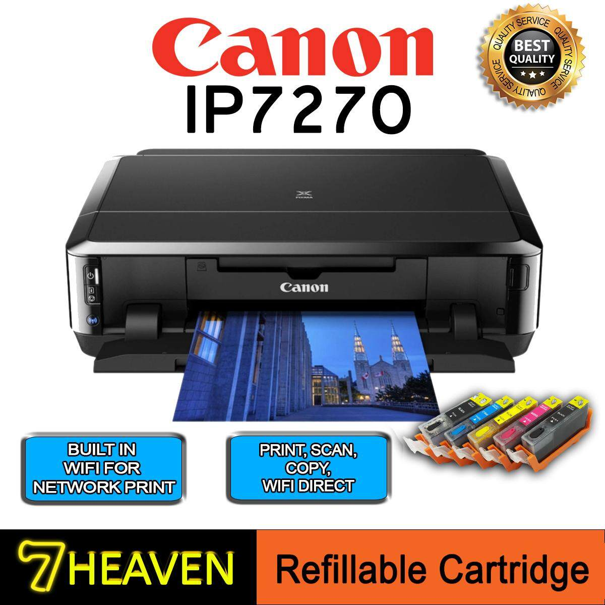Canon Inkjet Printer Pixma G3010 Print Scan Copy Wifi Multi Function Printers For The Best Prices In Malaysia Ip7270 Single With Refillable Ink Cartridge